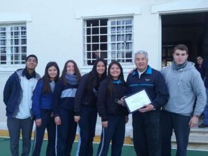 Alumnos educación media Colegio Huguet
